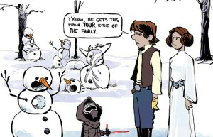 Brian Kesinger Draws More Star Wars Characters In The Style Of Calvin And Hobbes