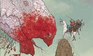 Dark Horse To Publish Geof Darrow's Shaolin Cowboy In Hardcover