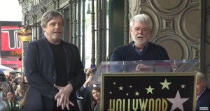 George Lucas Honours Mark Hamill At Hollywood Walk Of Fame