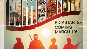 Support Jimmy Palmiotti, Craig Weeden and Justin Norman's Kickstarter Campaign