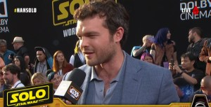 Watch The Red Carpet For Solo: A Star Wars Story