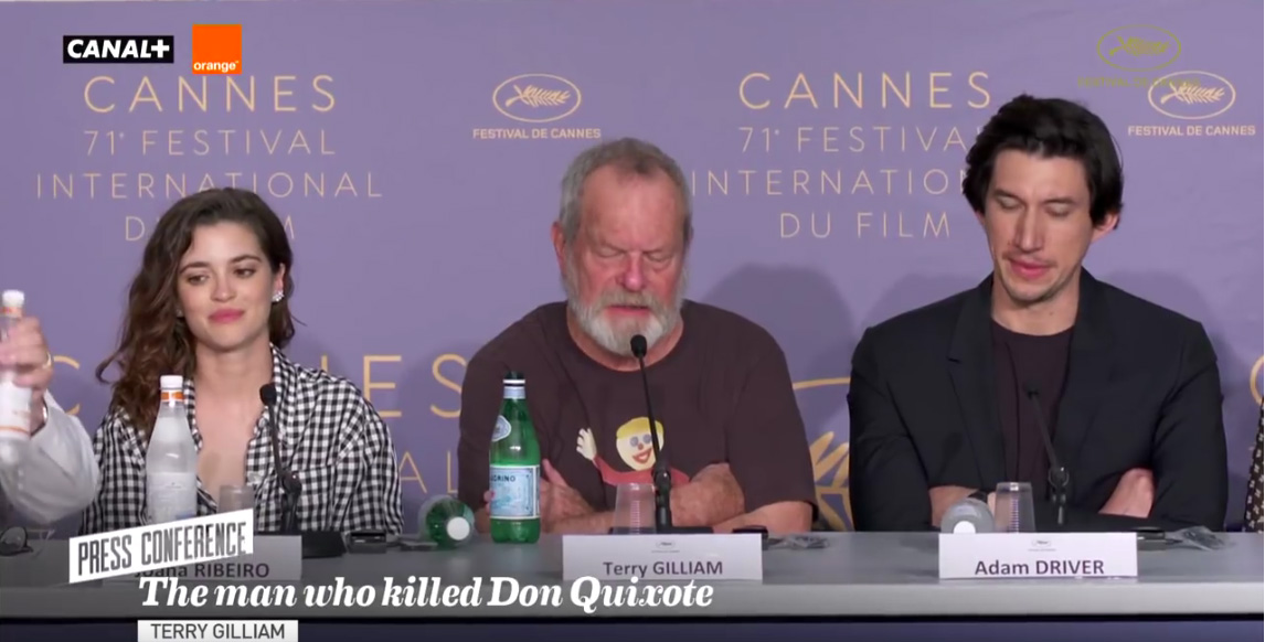 Watch The Press Conference From The Man Who Killed Don Quixote