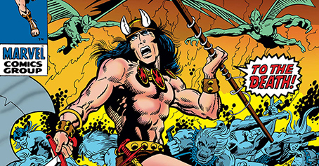 Conan The Barbarian: The Original Years Omnibus Arrives January 2019