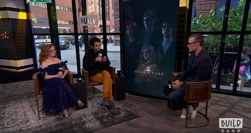 Alex Wolff And Milly Shapiro Talk About Horror Film Hereditary