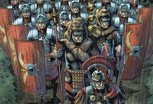 First Look At Britannia: Lost Eagles Of Rome #1 By Peter Milligan And Robert Gill Out In July