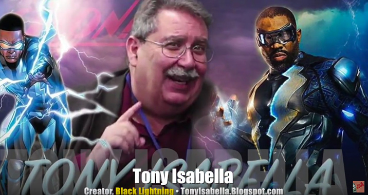 The Creator Of DC's Black Lightning Tony Isabella Speaks