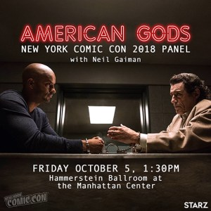 NYCC 2018: American Gods Makes Its First Panel Appearance This October With Neil Gaiman