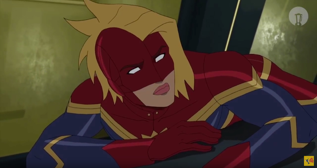 Watch An Animated Version Of Captain Marvel Trailer