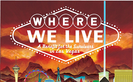 Over $100K In Where We Live Anthology Proceeds Given To Non-Profit To Benefit Las Vegas Shooting Survivors