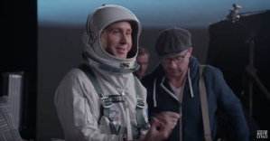 Go Behind The Scenes On First Man