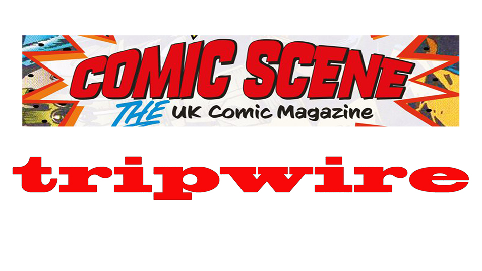 Tripwire Joins Forces With Comic Scene UK From November