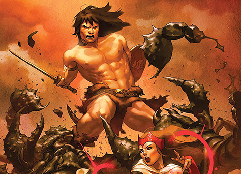 Conan Enters The Marvel Universe in Avengers: No Road Home