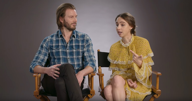 Bill Heck And Zoe Kazan Reveal Secrets Of The Ballad Of Buster Scruggs