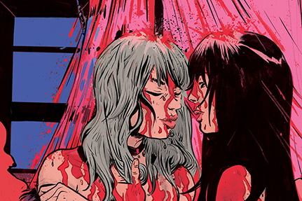 Brian Azzarello & Maria Llovet Explore Faith, Sex & The Devil in Faithless from BOOM! Studios