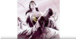 Alex Ross Draws Wonder Woman