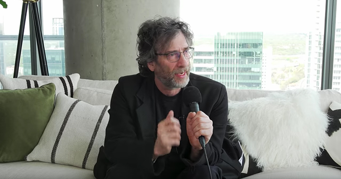 Neil Gaiman's Interview That He's Waited 20 Years To Do