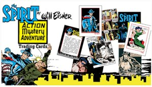 Help Support Chris Irving's Will Eisner's The Spirit Action Adventure Mystery Cards