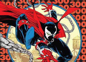Todd McFarlane & Greg Capullo  To Draw Historic Spawn #300