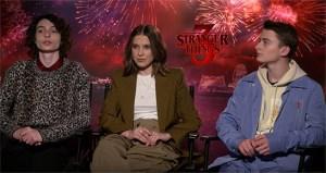 The Cast Talk Stranger Things Season Three To Fox 5 DC
