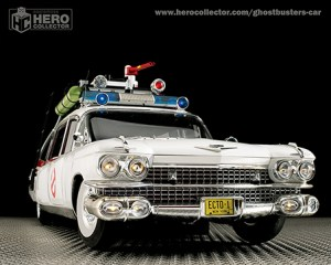Build Your Own Ghostbusters Ectomobile From Eaglemoss