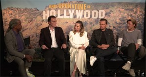 Watch The Cast And Director Talk Once Upon A Time In Hollywood