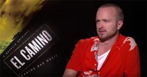 Aaron Paul Talks El Camino: A Breaking Bad Movie To Jake Hamilton
