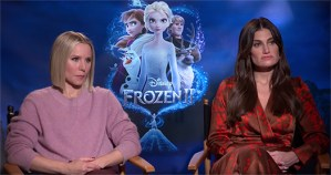 The Cast Talk Frozen 2