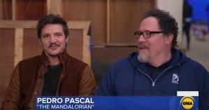 Jon Favreau And Pedro Pascal Talk The Mandalorian To Good Morning America