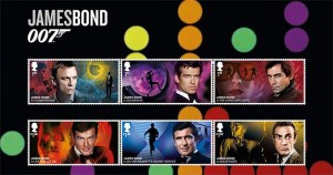 Royal Mail Release James Bond Stamps To Commemorate The Release Of No Time To Die