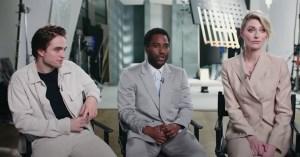 John David Washington, Robert Pattinson & Elizabeth Debicki Talk Tenet To Entertainment Weekly