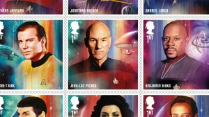 Royal Mail To Issue Star Trek Commemorative Stamps