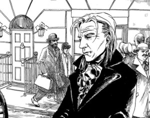 Previewing The Sherlock Holmes And The Empire Builders Strip Lettered