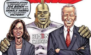 Savage Dragon #253 Back To Print With Cover Art In Celebration Of Biden/ Harris Win