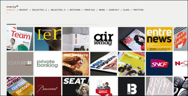 40+ Great Examples of Grid Style in Web design