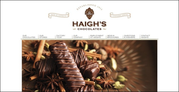 45 Sweet and Mouthwatering Chocolate Website Showcase