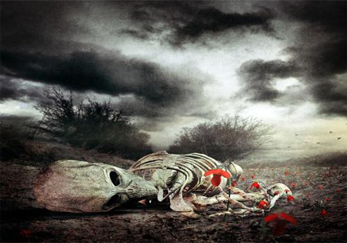 Deathly Photo Manipulation
