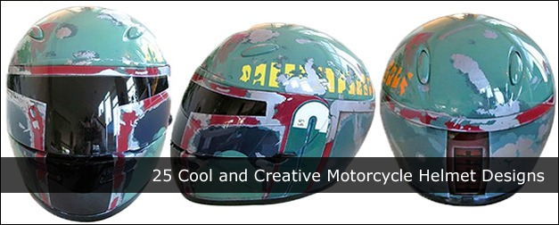 Cool and Creative Motorcycle Helmet Designs