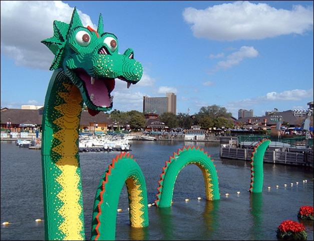 lego sea Serpent