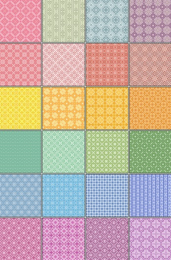24 Pixel Patterns