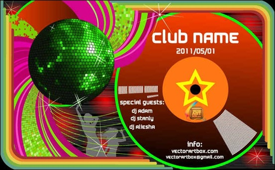 club-poster-template