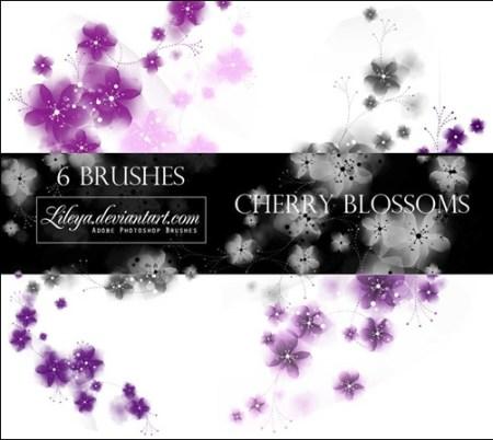 cherry-blossoms-brush-sets