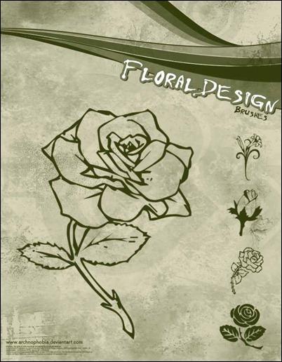 floral-design-brushes