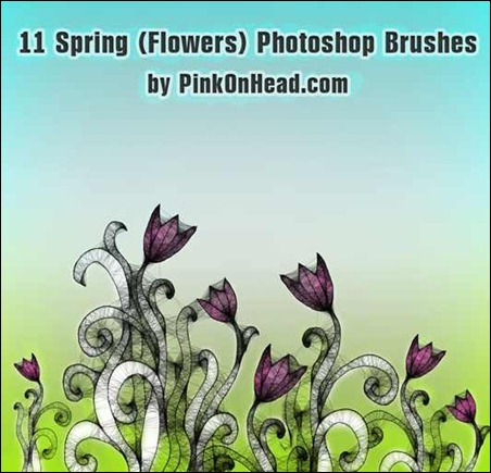 spring-floral-brushes-by-Brushes-king