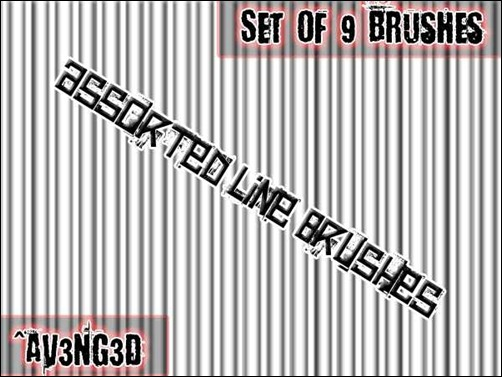 assorted-line-brushes
