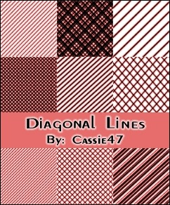 diagonal-line-pattern-brushes