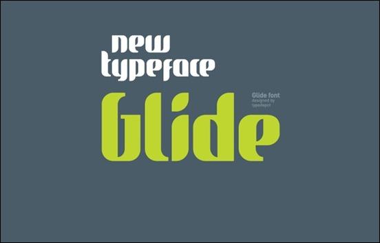 glide-typeface
