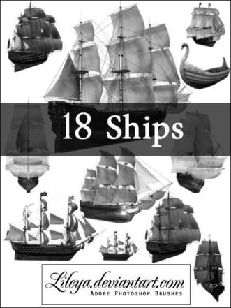ships-brush-set