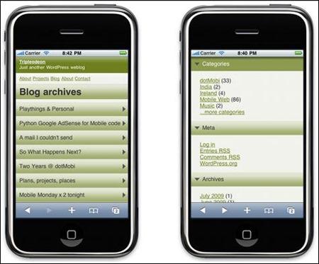 wordpress-mobile-pack