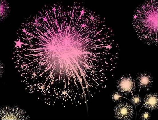 fireworks-brushes