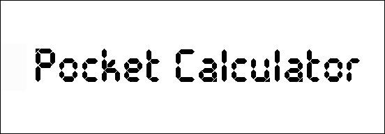 pocket-calculator